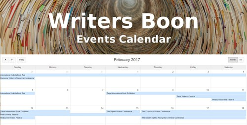 Calendar of Publishing Events